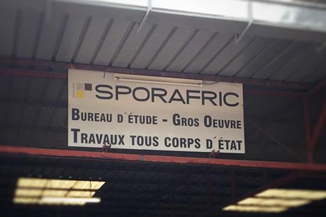 Notre base Sporafric Travaux et Services à Pointe-Noire